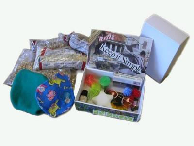 Sample Sensory Kit: Creating Individualized Sensory Modulation Tools